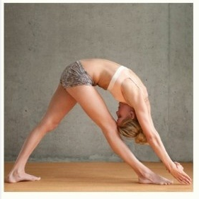 Standing Seperate Leg head to knee pose